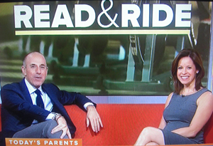 Today Show features Read and Ride program