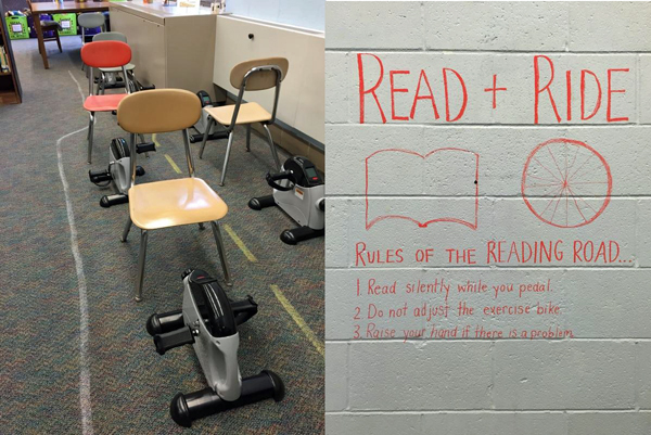 "Wedgewood Elementary School adds a ""Read and Ride"" program in Sewell, NJ"